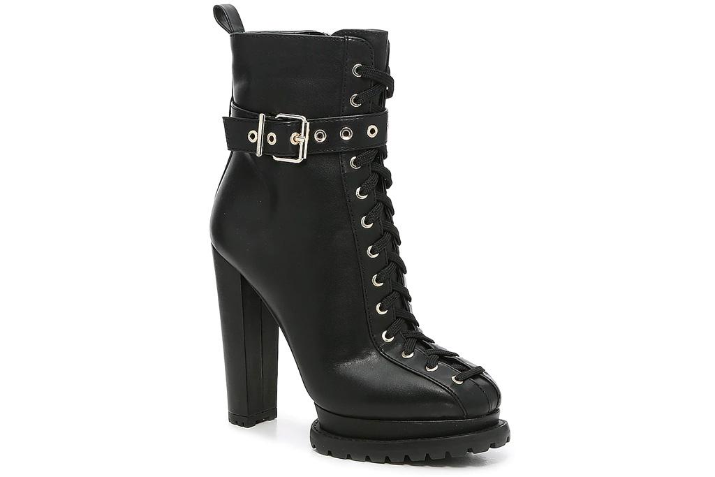 black boots, combat boots, platform, heels, jlo dsw