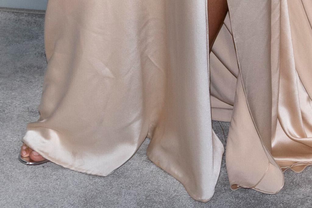 julianne hough, gown, cutout dress, silk gown, heels, silver, amfar gala, cannes, france