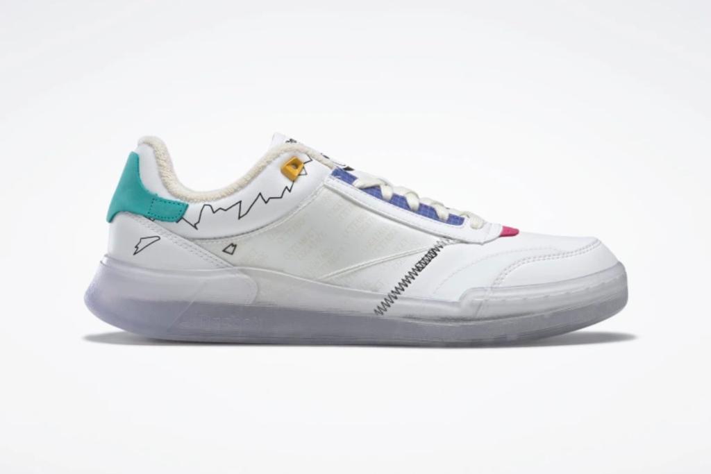 reebok, jurassic, park club c legacy shoes