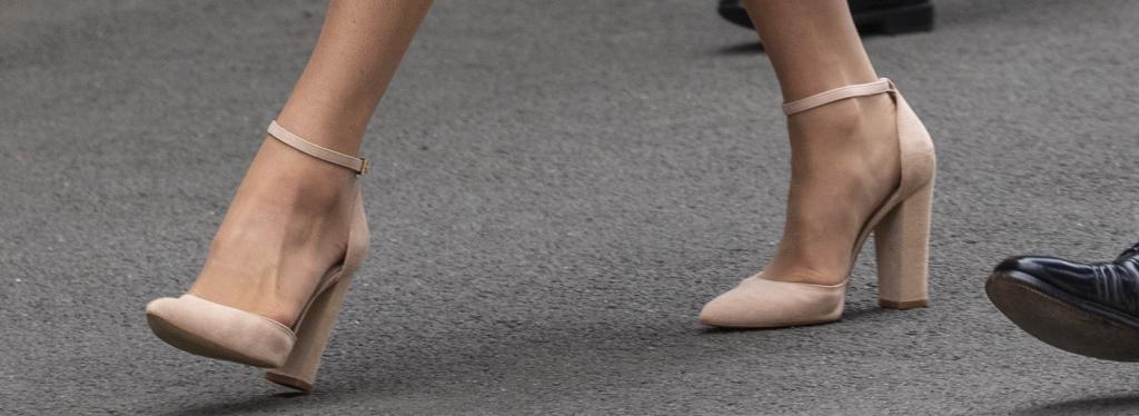 kate middleton, block heels, wimbledon