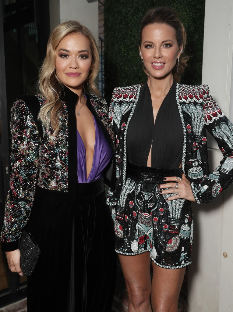 """Rita Ora and Kate Beckinsale attend Amazon Studios """"Jolt"""" Special Screening on Saturday, July 19, 2021 in Los Angeles"""