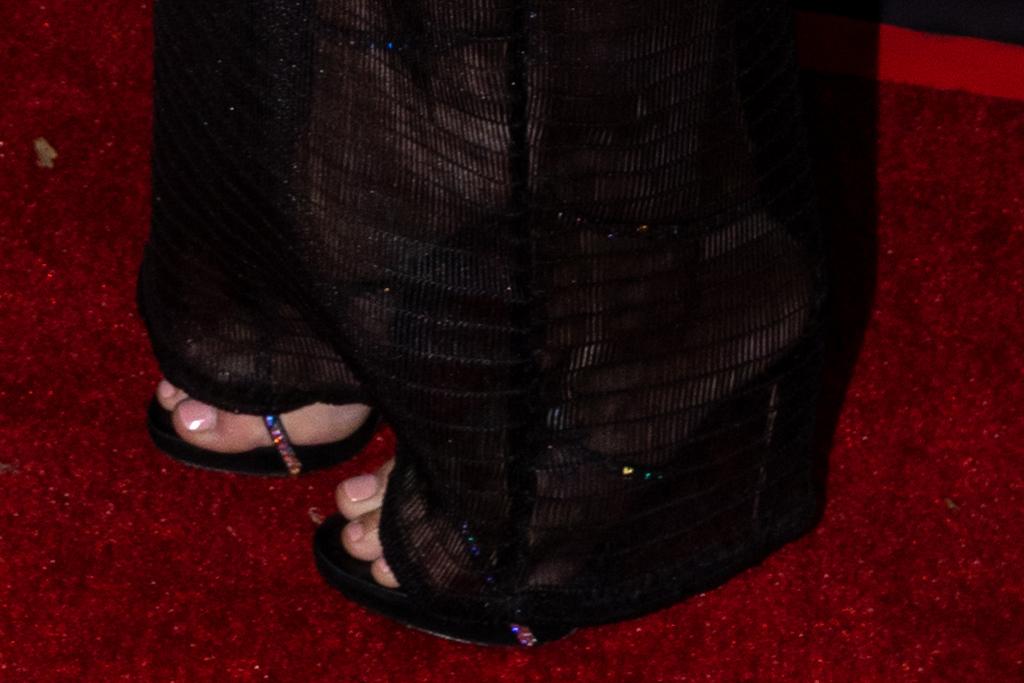 kesha, dress, sheer dress, bodysuit, heels, sandals, pig movie, red carpet, la