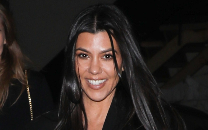kourtney-kardashian-slip-dress-coat-heels
