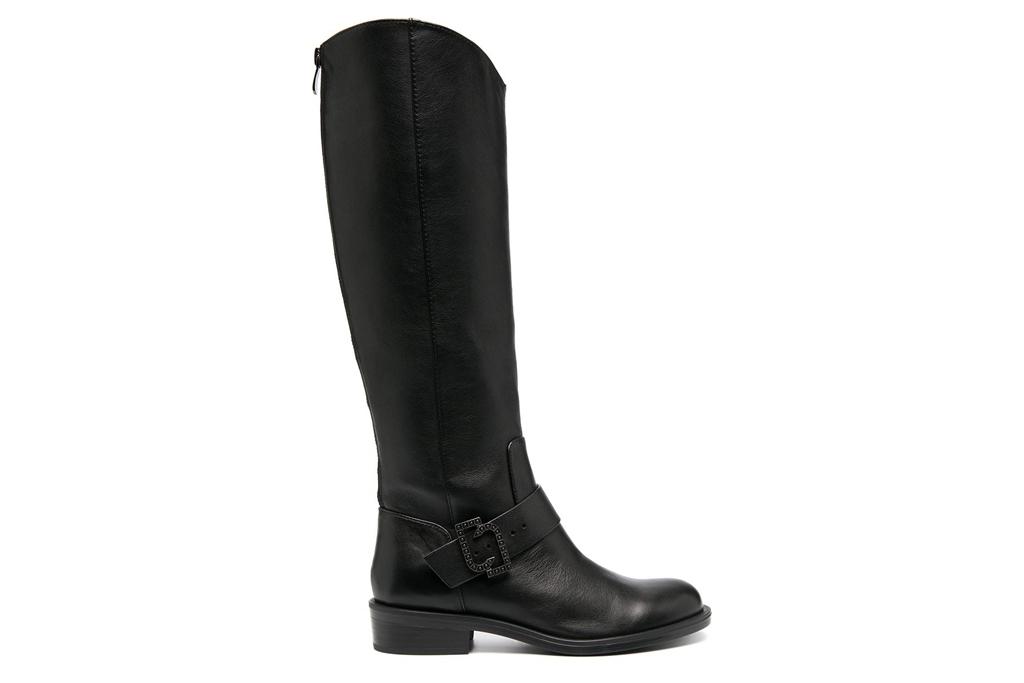 black boots, riding boots, liu jo
