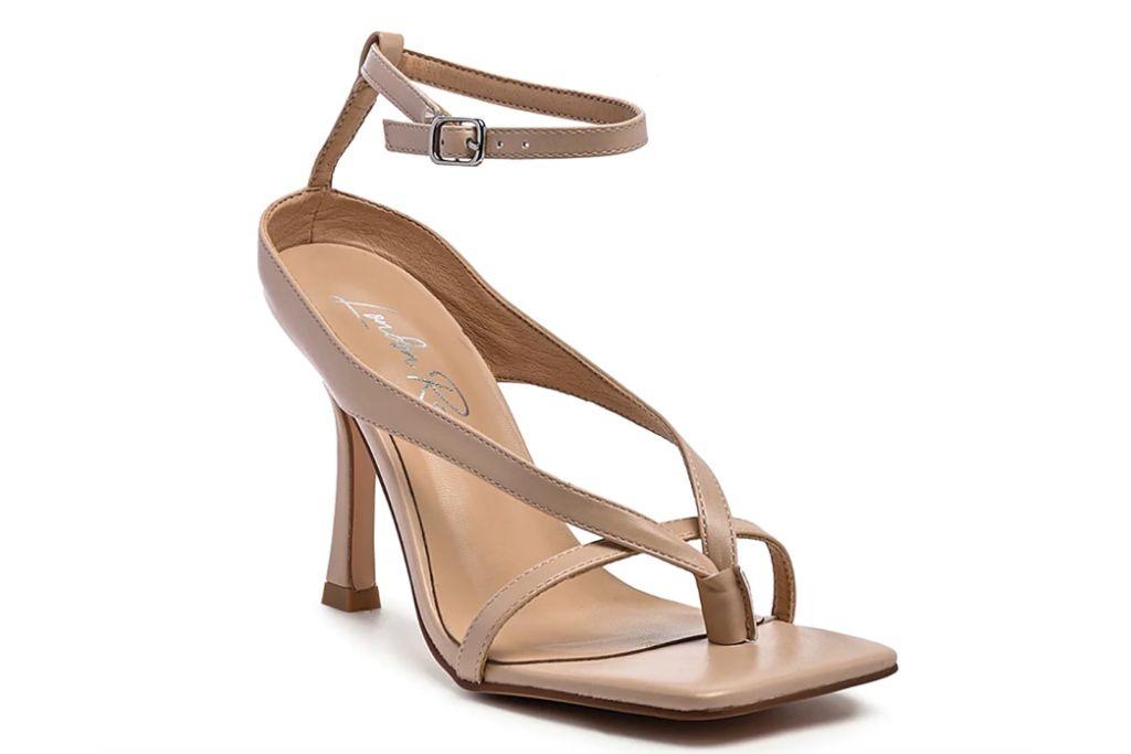 london rag, marcia sandal, square sandals