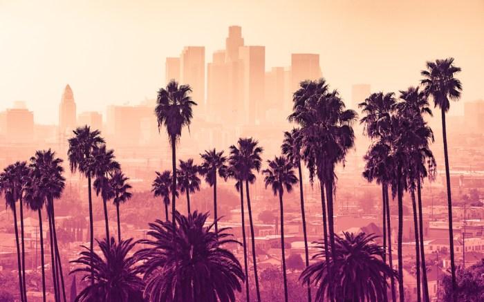 Los Angeles Skyline California