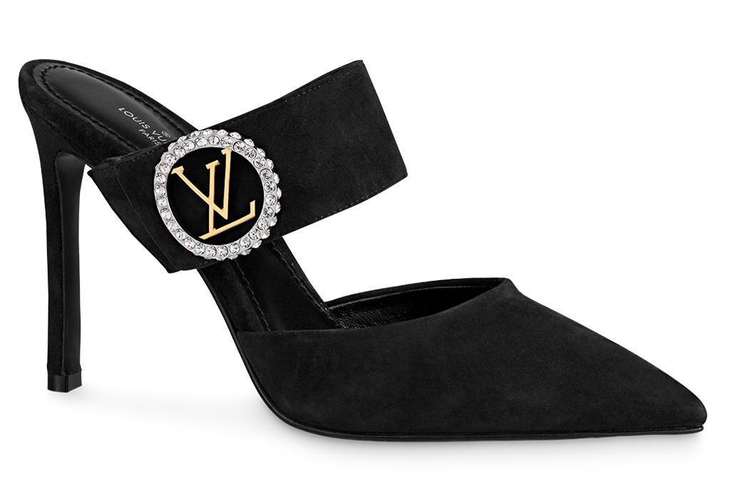 louis vuitton, mules, heels