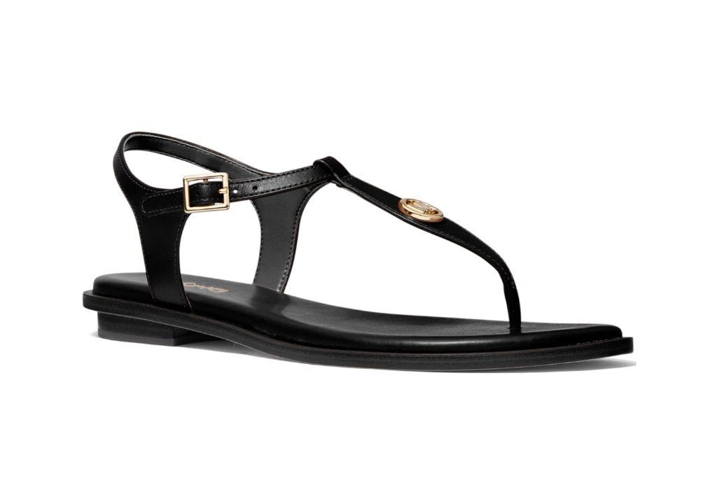 michael kors, mallory sandals, thong sandals