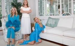 Kathy Hilton, Nicky Hilton, Paris Hilton,