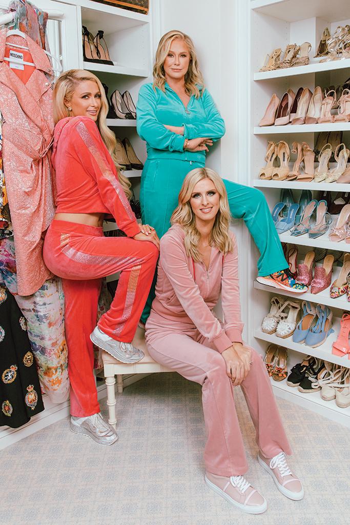 paris hilton, nicky hilton, kathy hilton, hilton family, the hiltons, paris hilton cooking show, paris hilton netflix, cooking with paris netflix, netflix, real housewives of beverly hills, kathy hilton real housewives, juicy couture, paris hilton juicy couture