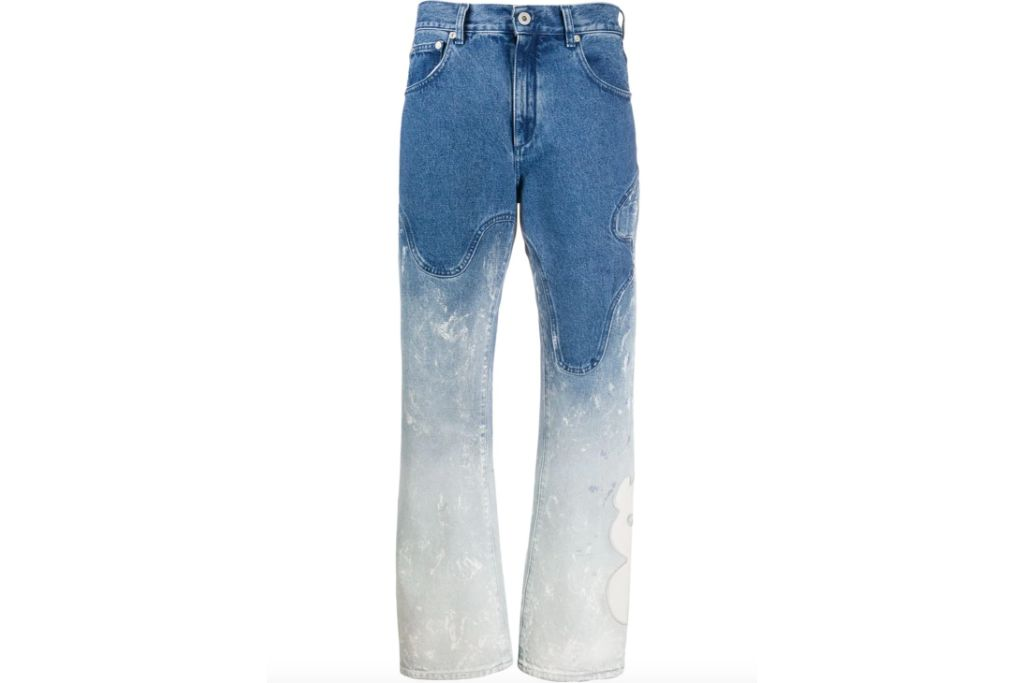 off-white, baggy jeans
