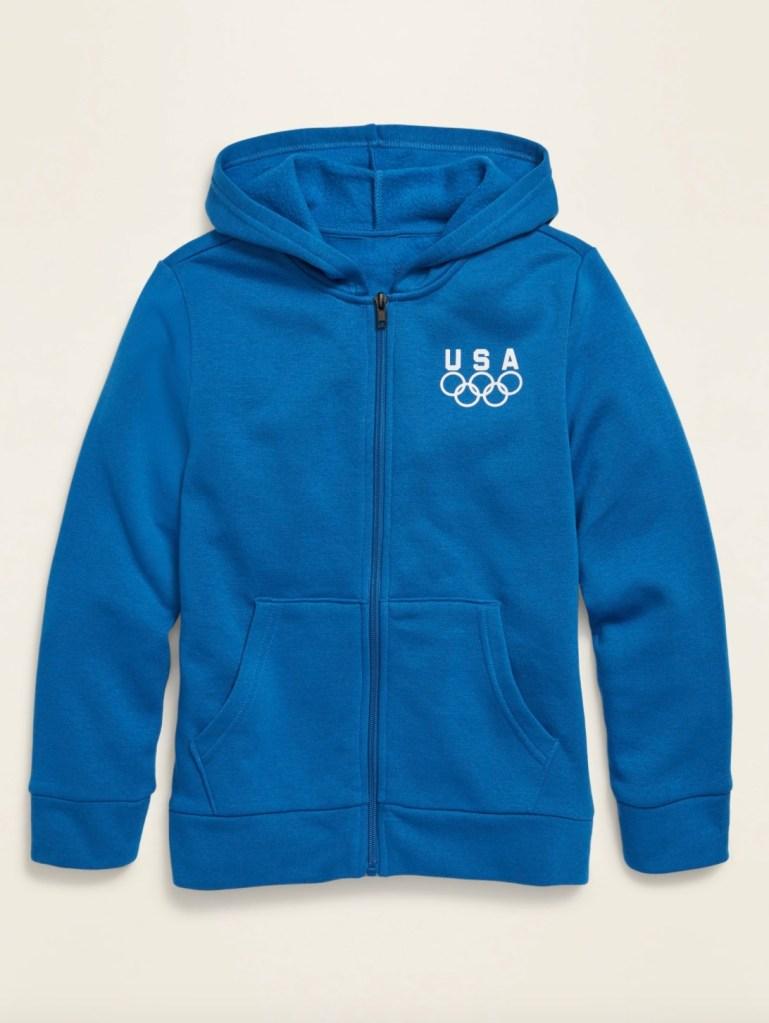 old navy, hoodie, tokyo olympics merch