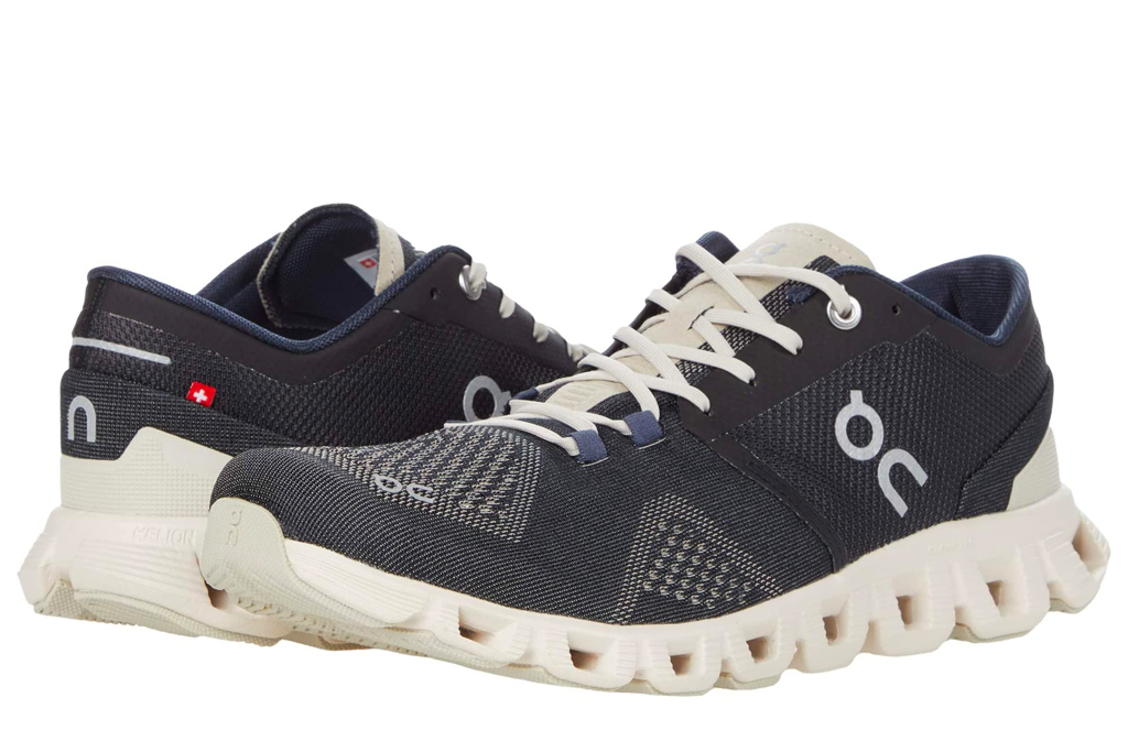 on, running, cloud, sneakers