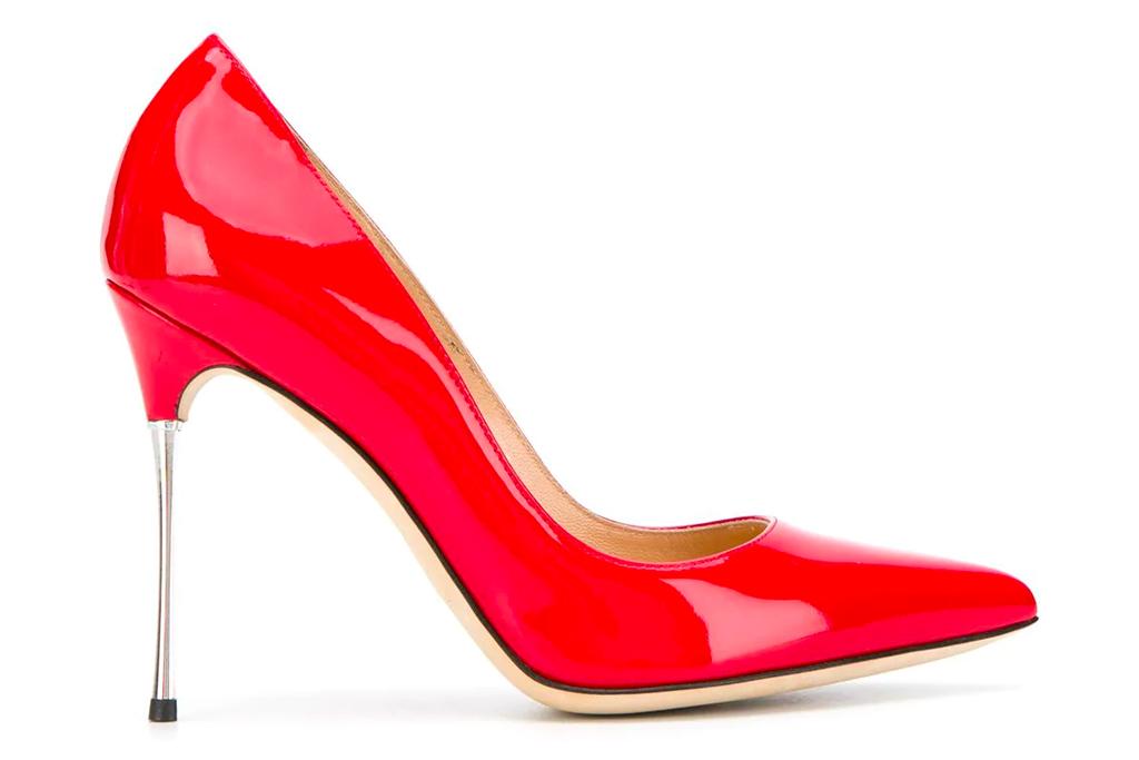 red heels, sergio rossi