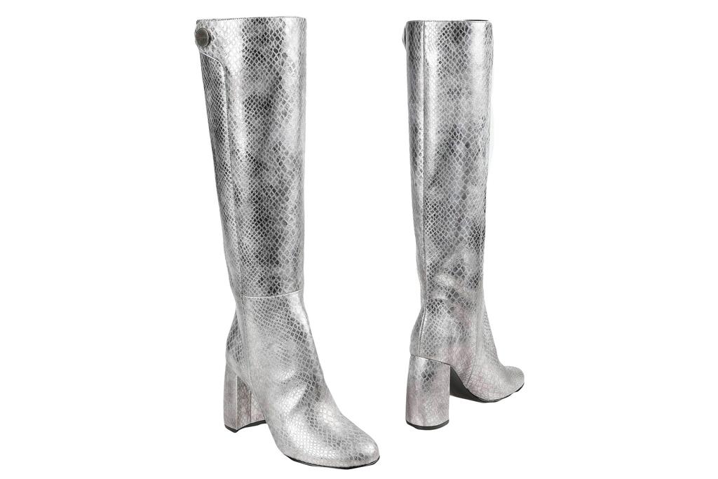 silver boots, gogo, stella mccartney