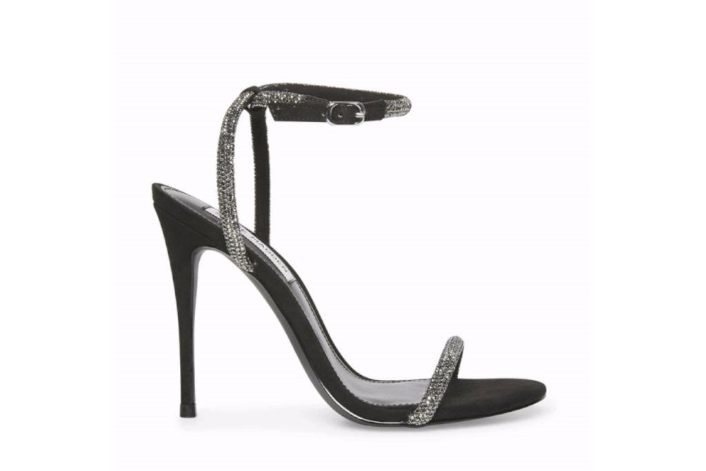 steve madden, breslin heels, sparkly heels