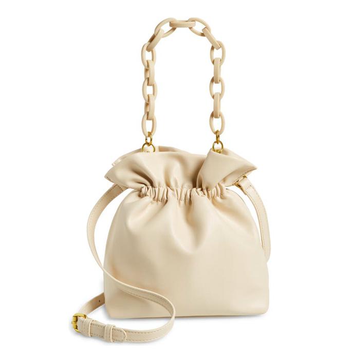 Street Level Faux Leather Bucket Bag, best summer handbags