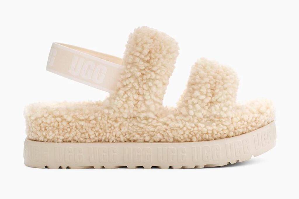 ugg, sandals, furry, oh fluffita