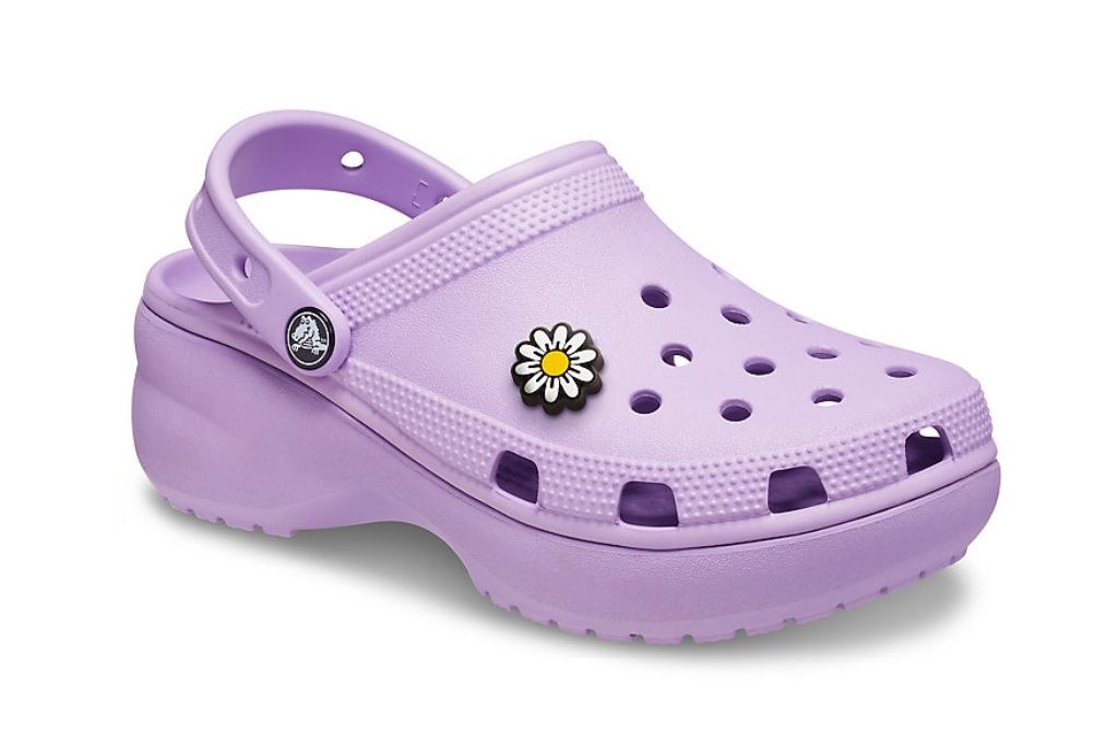 crocs, classic platform, platform crocs to shop