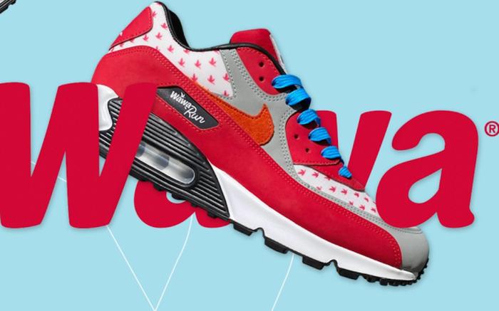 Wawa X Nike Air Max 90 Sneakers