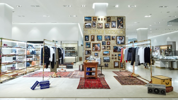 Golden Goose, Nordstrom, nyc, flagship, pop-up, golden collection, archive collection