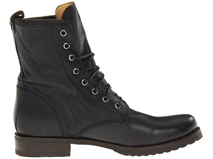 Frye, combat boots
