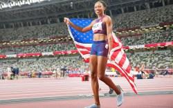 06 August 2021, Japan, Tokio: Athletics: