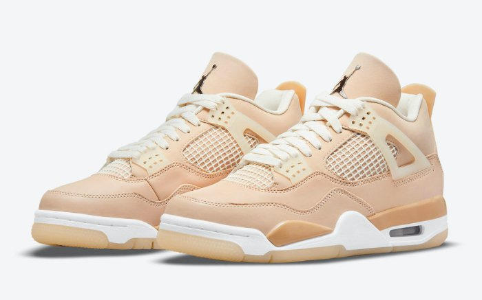air jordan 4 shimmer, women's, sneakers