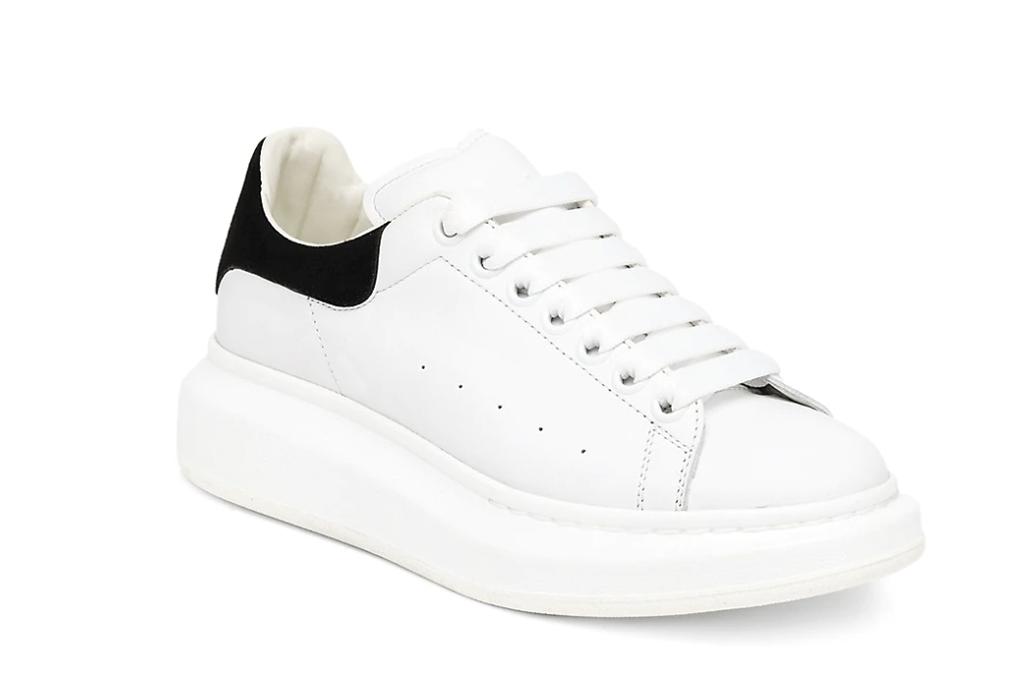 Alexander McQueen Women's Suede Oversized Sneakers