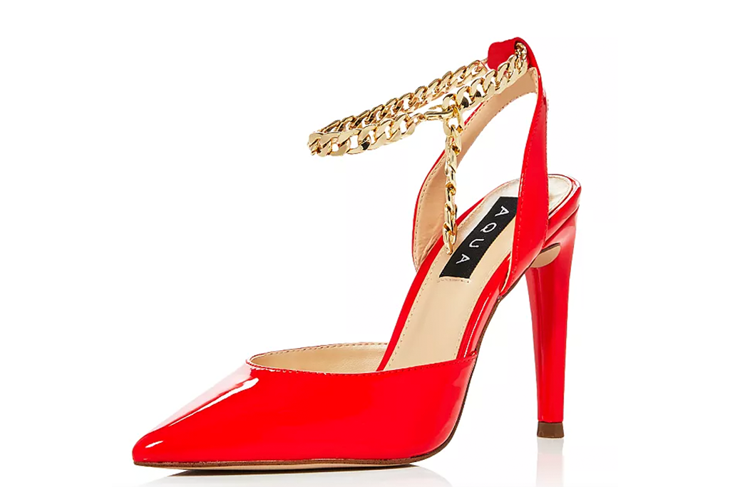 Aqua Women's Alive Ankle Strap High Heel Sandals