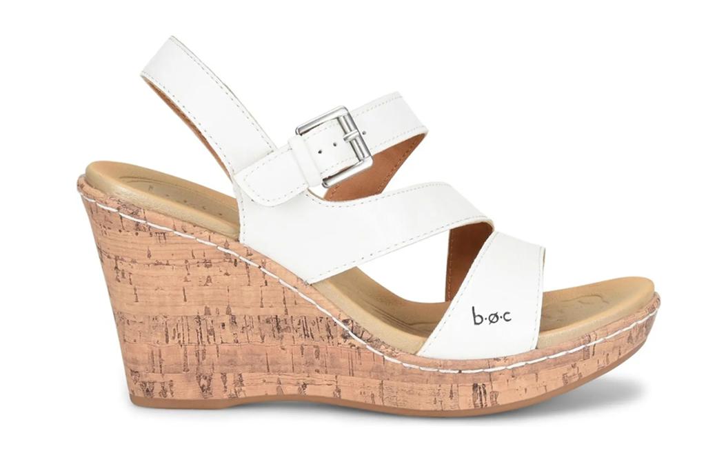 B O C Schirra Cork Wedge Sandal