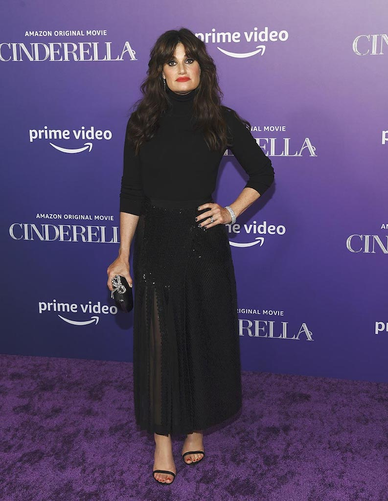 Idina Menzel at the Cinderella Premiere