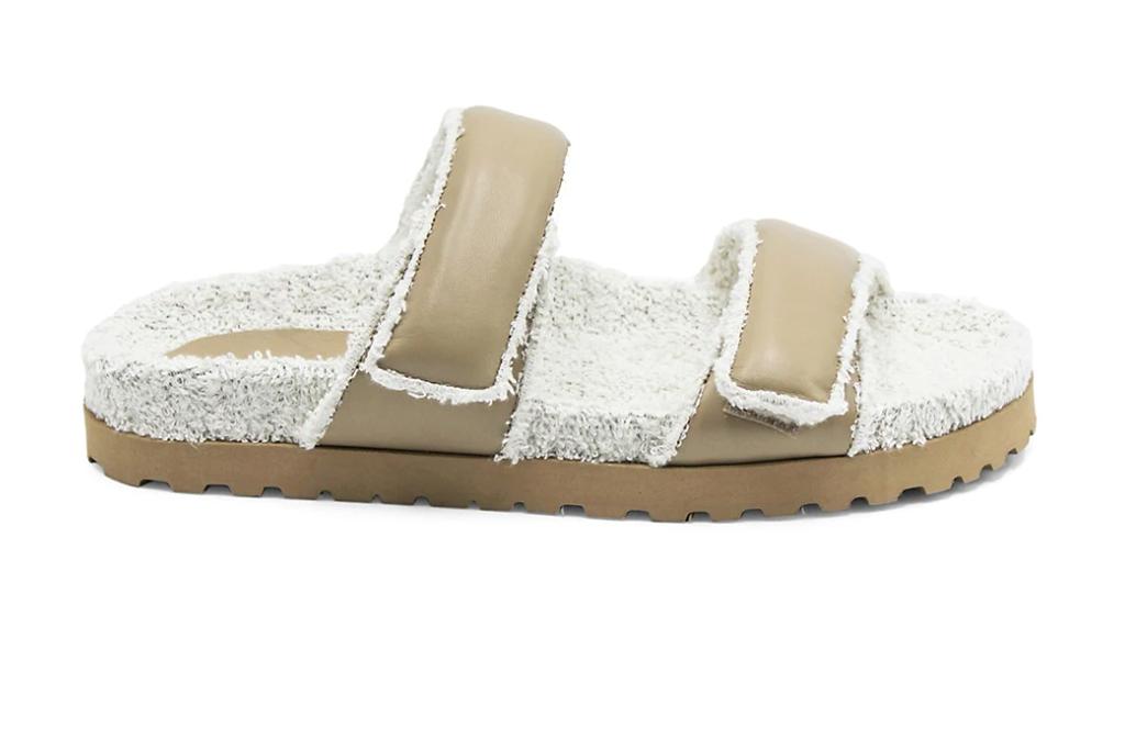 Gia Borghini Gia x Pernille Leather Double Strap Sandals