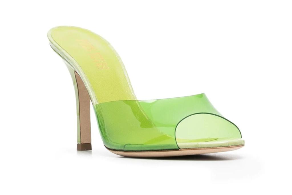 Paris Texas open-toe mule sandals