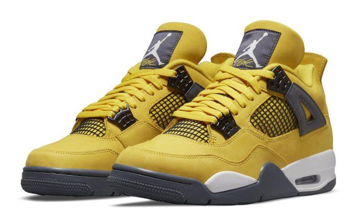 Air Jordan 4 'Tour Yellow'