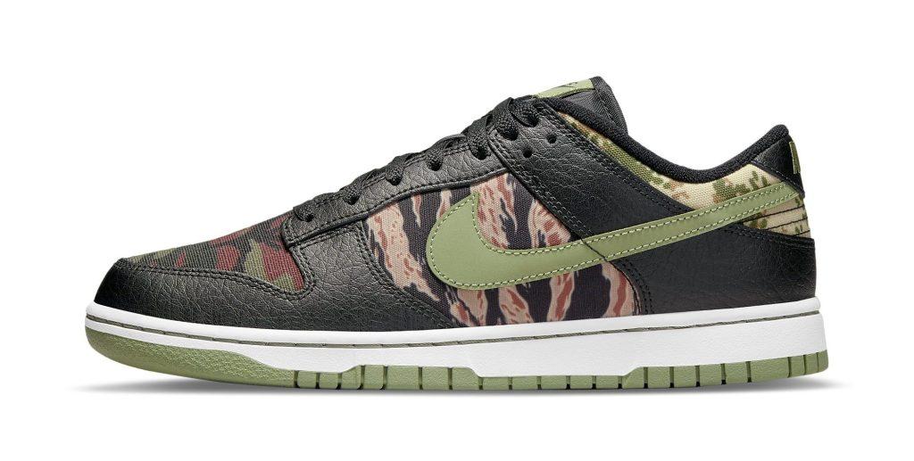 Nike Dunk Low 'Black Multi-Camo'