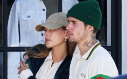 Justin and Hailey Bieber, LA, dinner,