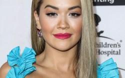 Singer Rita Ora arrives at the
