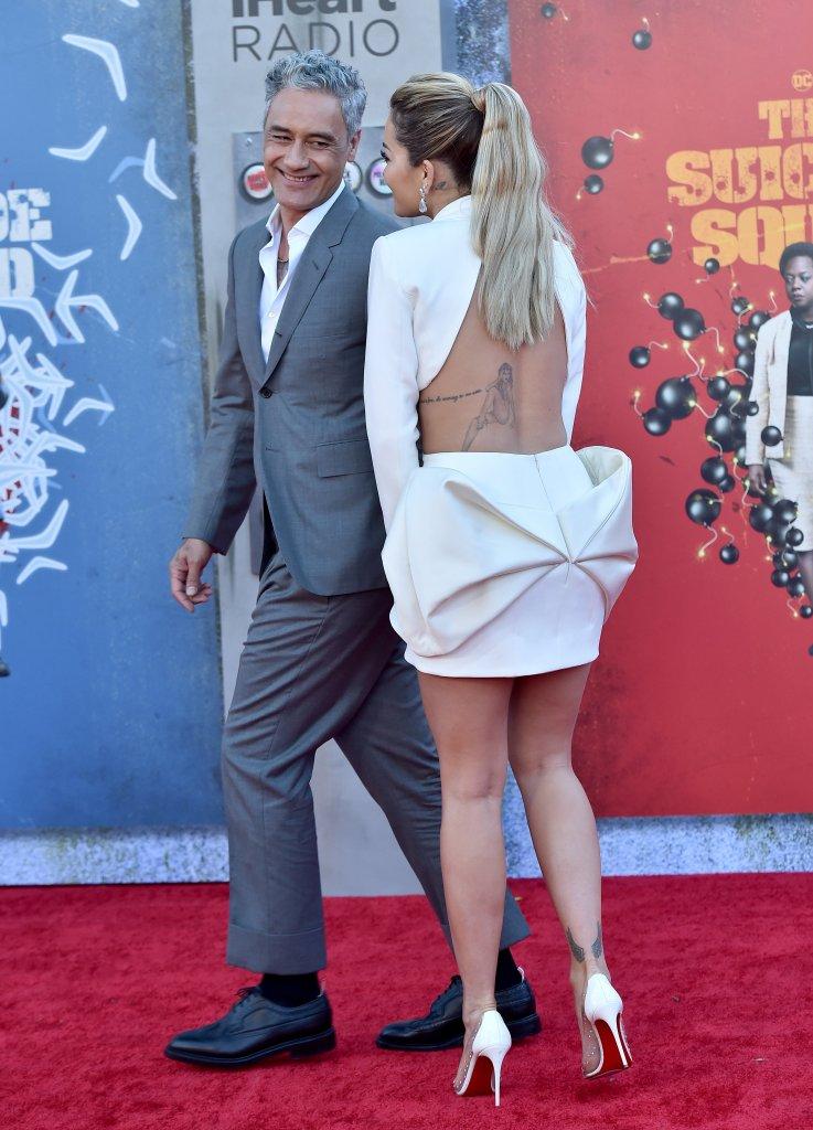 Rita Ora, Christian Louboutin, Azzi & Osta, Suicide Squad, premiere, Los Angeles