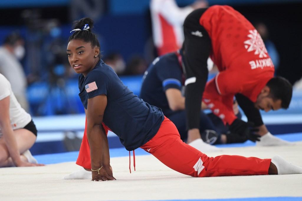 tokyo olympics 2020, simone biles, balance beam, bronze medal