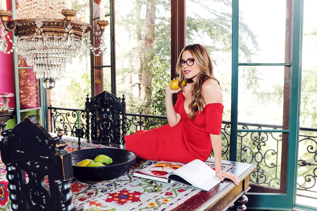 """Sofia Vergara models bold eyewear from her exclusive namesake collection, Sofia Vergara x Foster Grant. The bold styles include sunglasses, reading glasses and SunReaders - all affordably priced, starting at $30 - to allow women not just to see, but to """"See Beautifully"""". Foster Grant, the industry's leading eyewear brand, donates one pair of reading glasses to RestoringVision for each pair of Sofia Vergara x Foster Grant eyewear sold. *BYLINE MUST CREDIT: Foster Grant/Mega. 04 Aug 2021 Pictured: Sofia Vergara models eyewear from her Sofia Vergara x Foster Grant collection. *BYLINE MUST CREDIT: Foster Grant/Mega. Photo credit: Foster Grant/MEGA TheMegaAgency.com +1 888 505 6342 (Mega Agency TagID: MEGA776357_006.jpg) [Photo via Mega Agency]"""