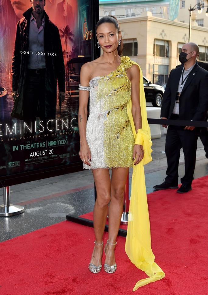 Thandie Newton, Reminiscence premiere