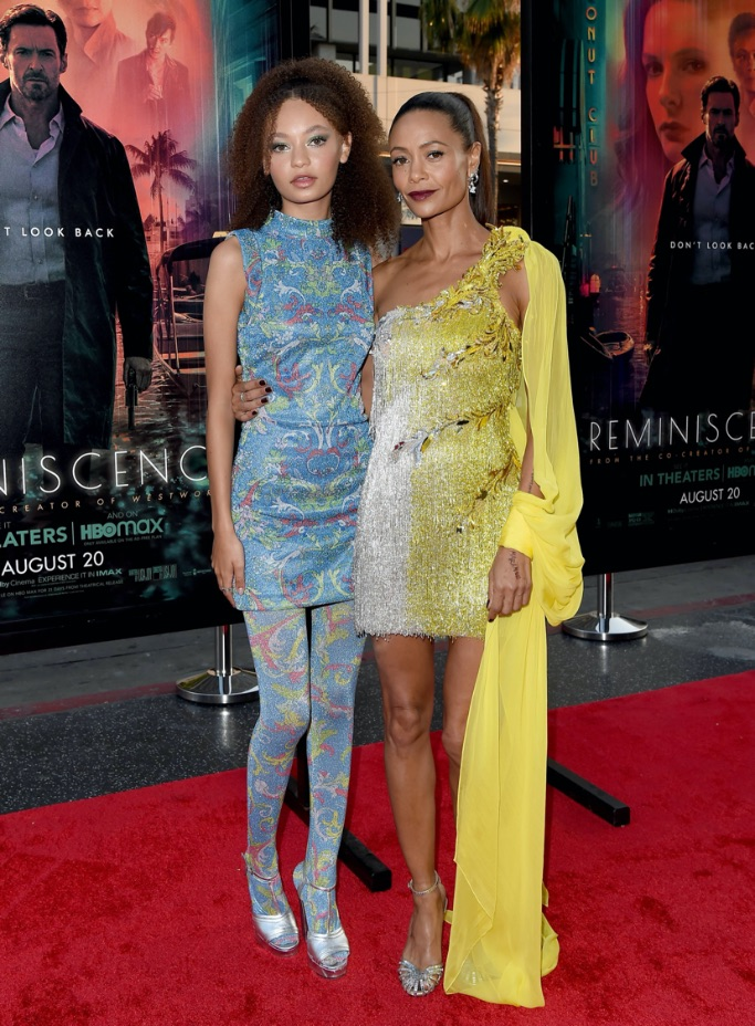 Thandie Newton, Nico Parker, Reminiscence premiere, Hollywood