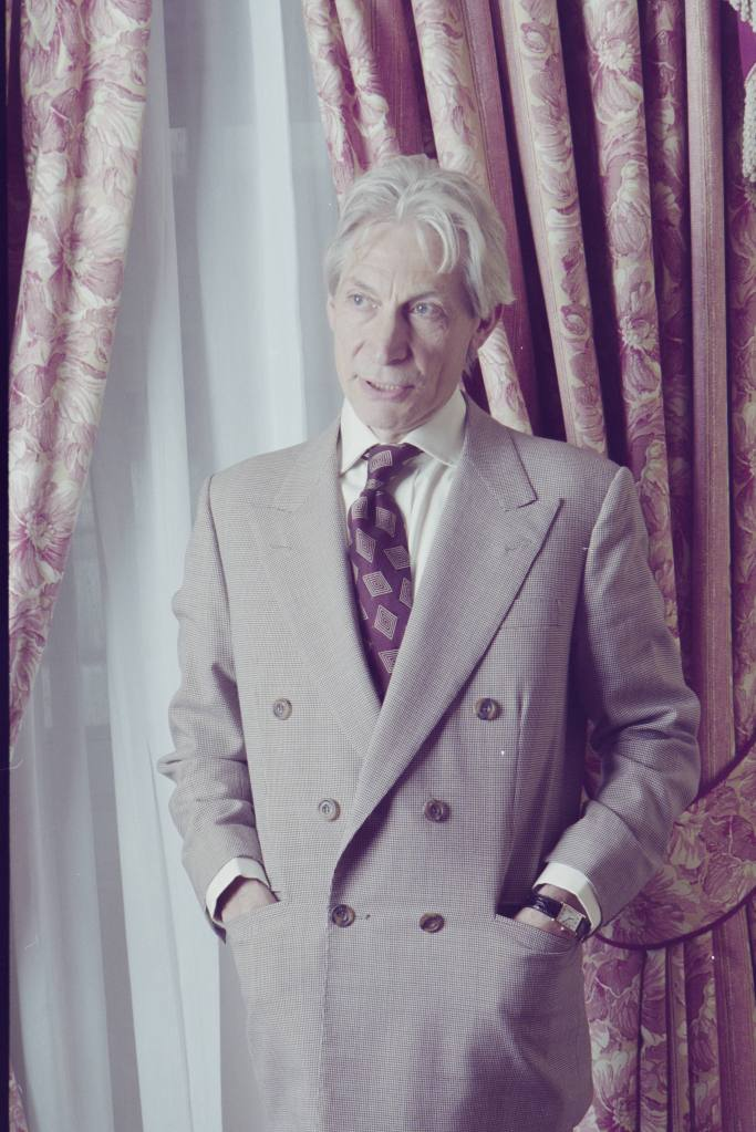 """In a sentimental mood: Charlie Watts returns to jazz, his first love, with a fine new album. Drummer for The Rolling Stones. 04/06/1996. 24 Aug 2021 Pictured: In a sentimental mood: Charlie Watts returns to jazz, his first love, with a fine new album. Drummer for The Rolling Stones. 04/06/1996 Material must be credited """"The Times/News Licensing"""" unless otherwise agreed. 100% surcharge if not credited. Online rights need to be cleared separately. Strictly one time use only subject to agreement with News Licensing. Photo credit: News Licensing / MEGA TheMegaAgency.com +1 888 505 6342 (Mega Agency TagID: MEGA780915_008.jpg) [Photo via Mega Agency]"""