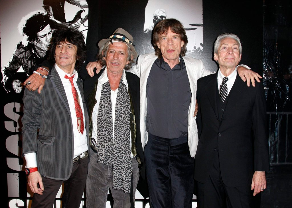 MANDATORY BYLINELUIS GUERRA/©2008 RAMEY PHOTO310-828-3445New York, March 30, 2008This photo: The Rolling Stones The Premier of Martin Scorsese's documentary on the Rolling Stones, Shine A Light, at the Ziegfeld Theatre in Manhattan.PGlg6 (Mega Agency TagID: MEGAR105107_5.jpg) [Photo via Mega Agency]