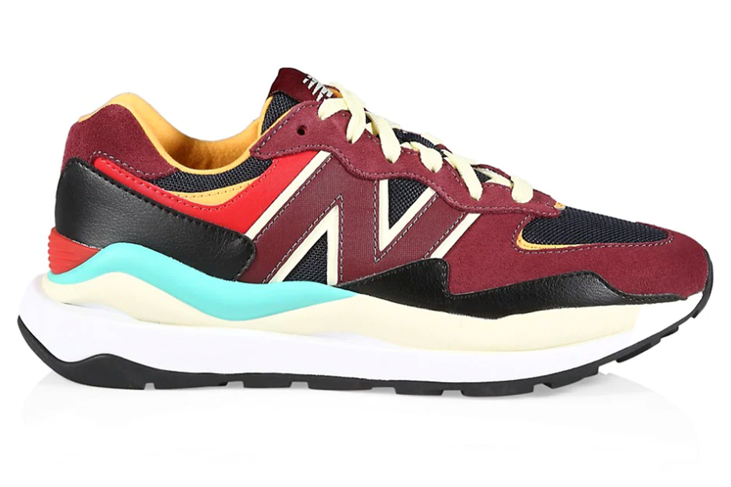 New Balance 57/40 Suede Low-Top Sneakers