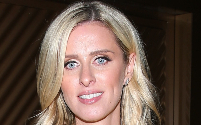 Nicky Hilton, Giannico, Elie Saab, cartier, yellow dress, silver sandals