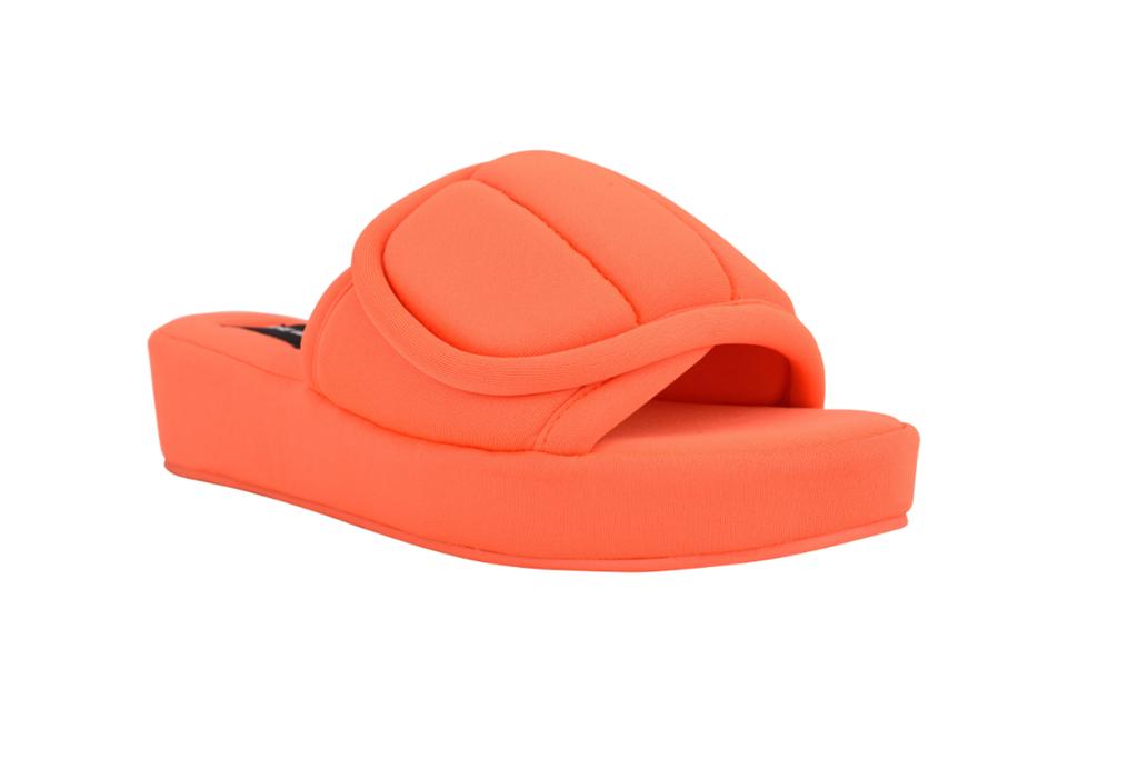 Lounge Platform Slide Sandals