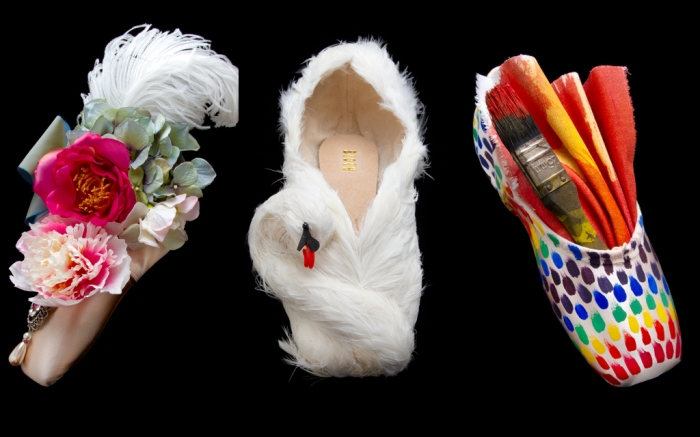 royal opera house, royal opera house ballet shoes, pointe window, london ballet, ballet, ballet shoes