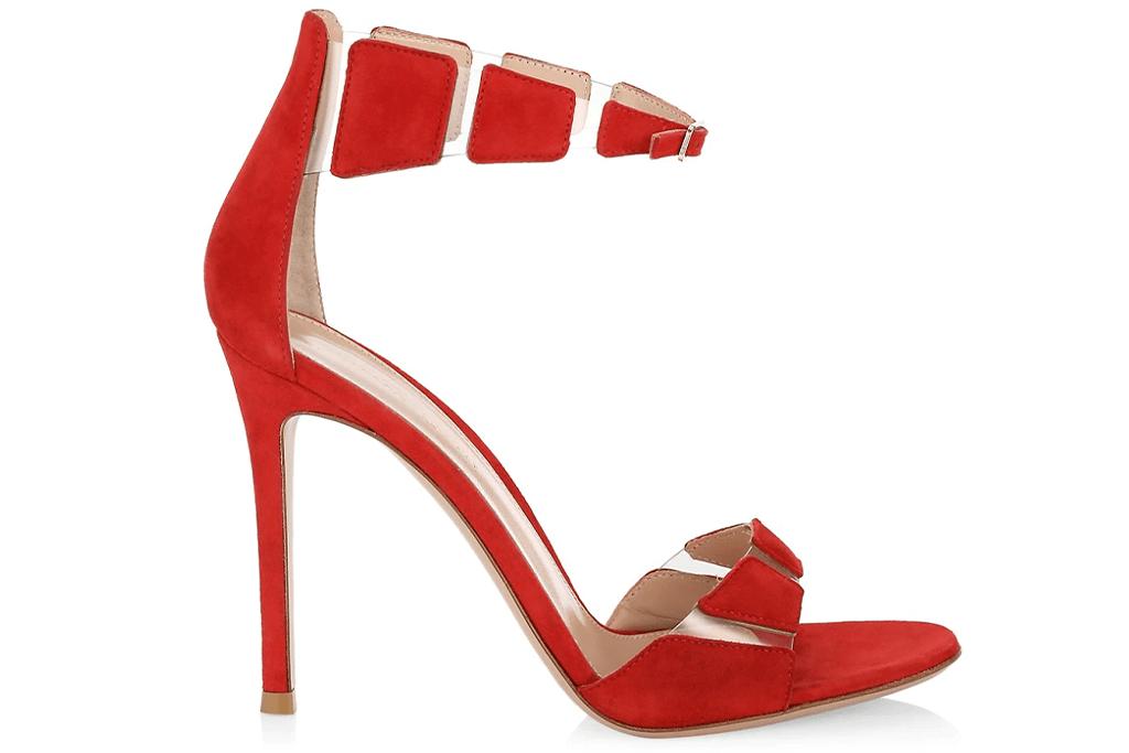 Gianvito Rossi Camoscio Ankle-Strap Sandals